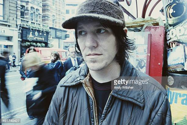 American singersongwriter Elliott Smith Oxford Street London June 1998