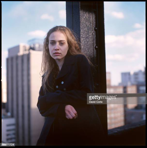 American singersongwriter Fiona Apple on a rooftop at Gramercy Park New York City 1996
