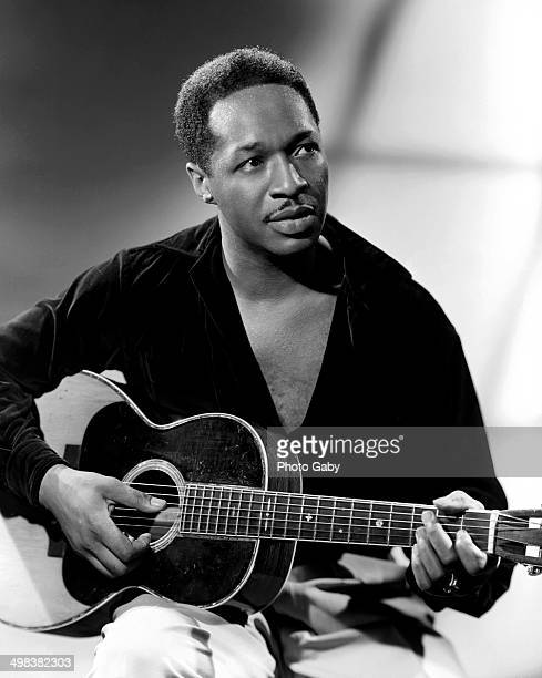 American singersongwriter guitarist actor and civil rights activist Josh White Montreal 1953
