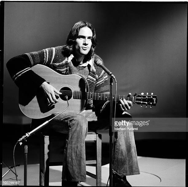 American singersongwriter James Taylor performs on BBC TV 20th October 1970