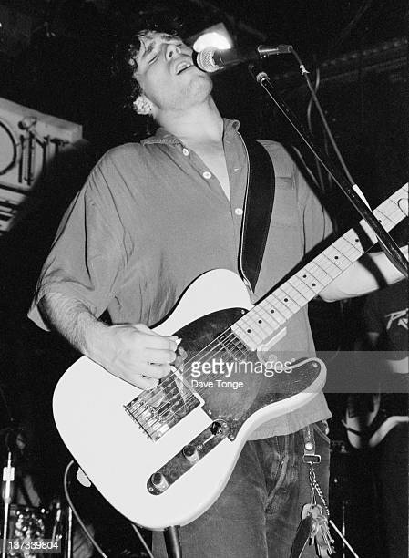American singer-songwriter Jeff Buckley performing on stage at The Point, Atlanta, Georgia, USA, 6th August 1994.