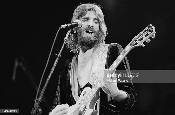 American singersongwriter Kenny Loggins performing in Los Angeles 8th March 1980