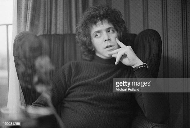 American singersongwriter Lou Reed 12th January 1972