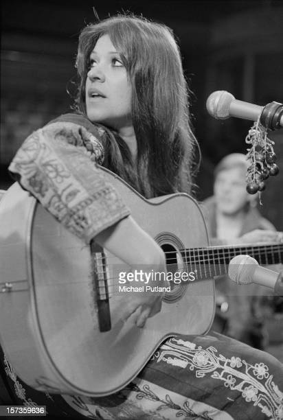 American singersongwriter Melanie Safka at a photocall at the Royal Albert Hall London 17th October 1972
