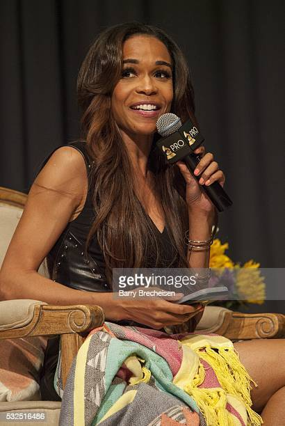 American singer-songwriter Michelle Williams, during the GRAMMY Up Close With Lalah Hathaway and Phil Thornton at the Chicago Cultural Center on May...