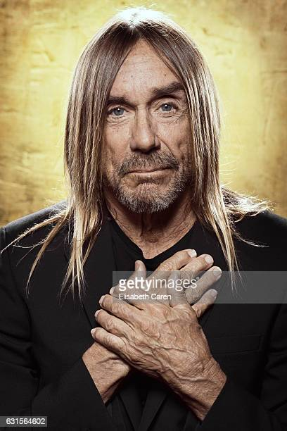 American singersongwriter musician and actor Iggy Pop is photographed for The Wrap on December 5 2016 in Los Angeles California