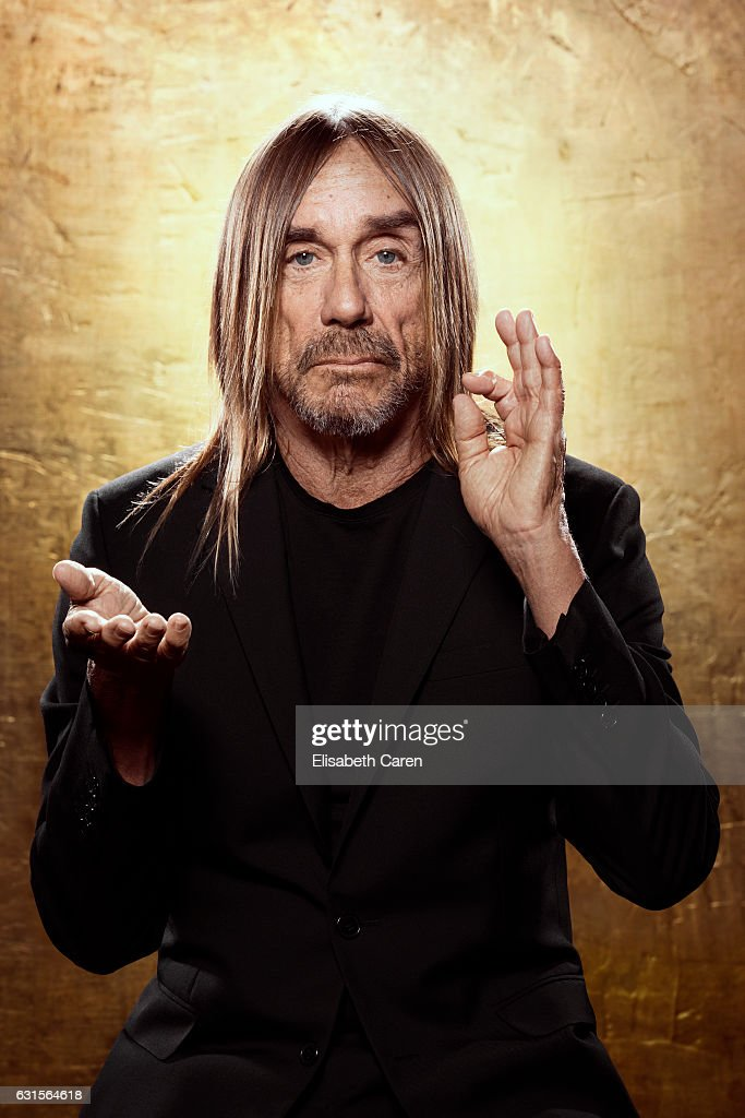 American singer-songwriter, musician and actor Iggy Pop is photographed for The Wrap on December 5, 2016 in Los Angeles, California.