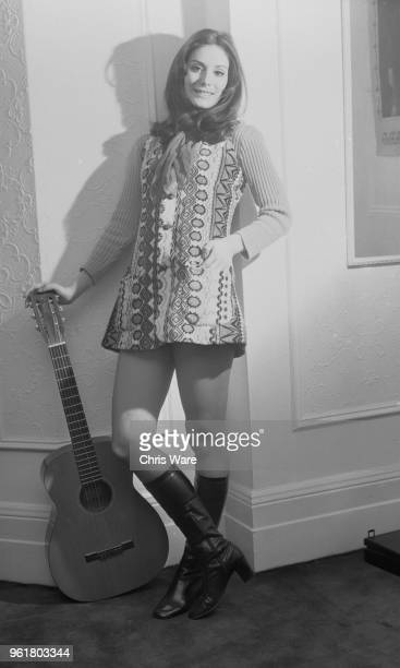 American singersongwriter Nanette Workman at her flat on the Marylebone Road London circa 1970