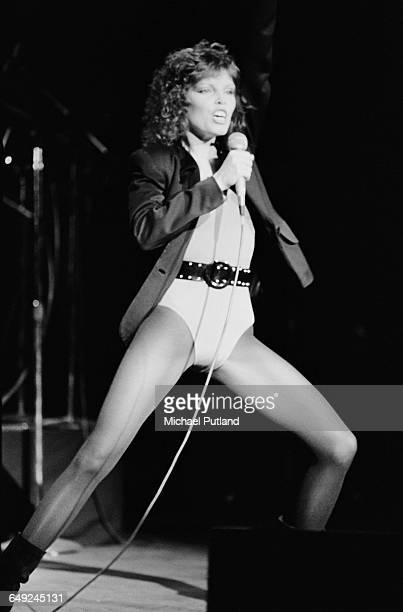 American singersongwriter Pat Benatar performing in Los Angeles California February 1980