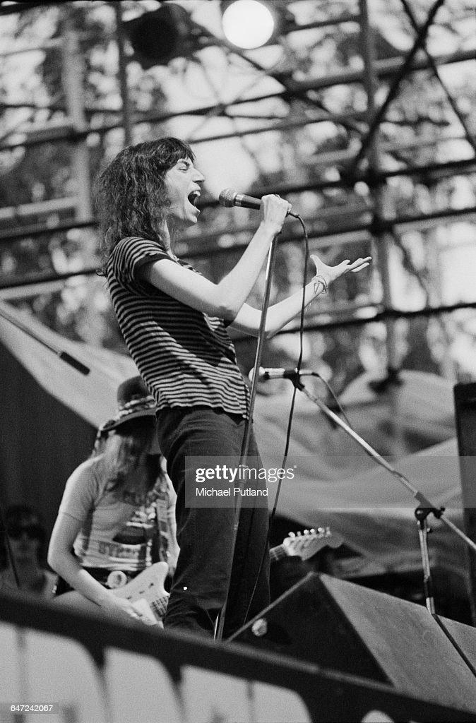 Patti Smith In Central Park : News Photo