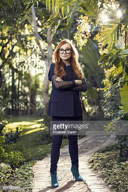 American singersongwriter pianist and composer Tori Amos is photographed for The Wrap on December 2 2016 in Los Angeles California