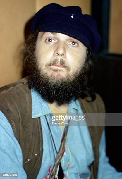 American singer-songwriter, pianist and guitarist Dr. John 1973 in studio in Los Angeles, California. .