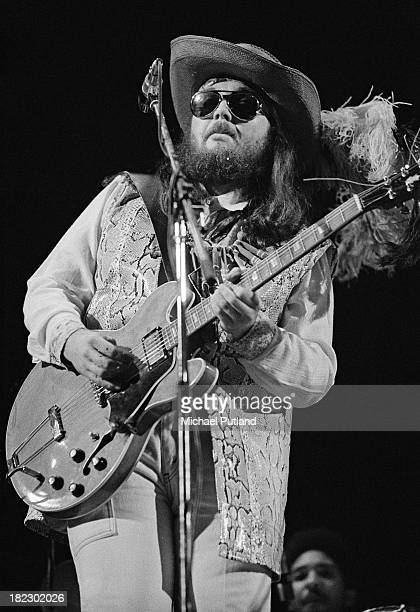 American singersongwriter pianist and guitarist Dr John performing in London 3rd July 1973