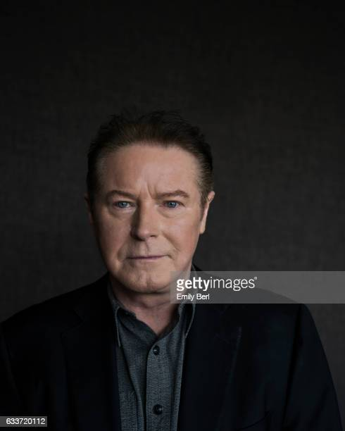 American singersongwriter producer and drummer and founding member of the Eagles Don Henley is photographed for Rhapsody Magazine on October 14 2016...