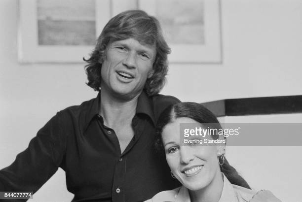 American singersongwriter Rita Coolidge with his husband American musician and actor Kris Kristofferson 31st March 1978