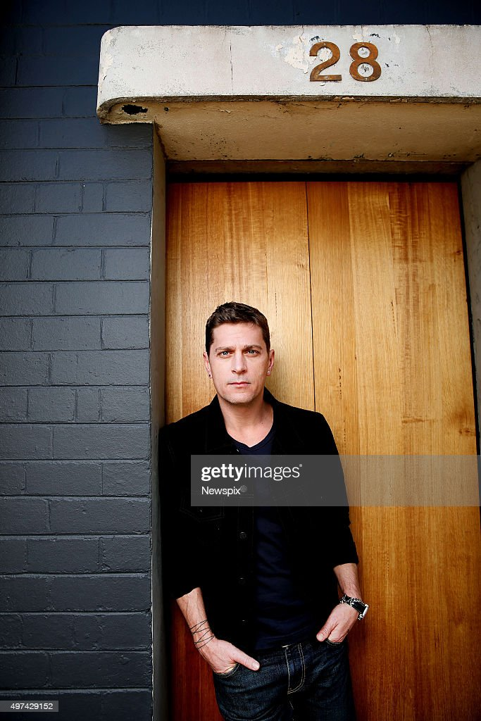 Rob Thomas Melbourne Photo Shoot