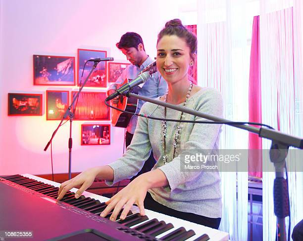 American singersongwriter Sara Bareilles performs live at the Centraltheater on January 30 2011 in Leipzig Germany