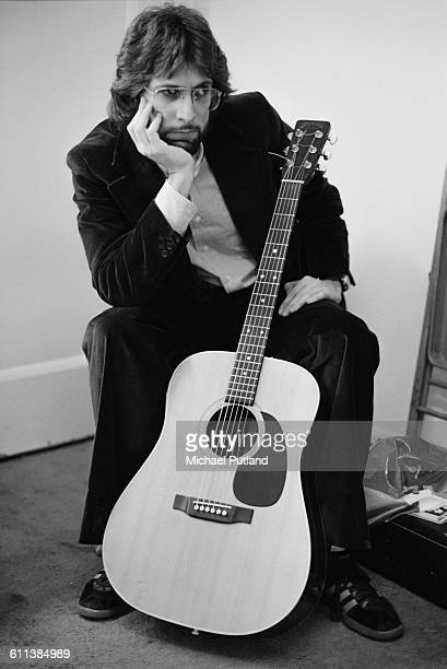 American singersongwriter Stephen Bishop at rehearsals for the NBC comedy sketch show 'Saturday Night Live' New York City USA March 1978