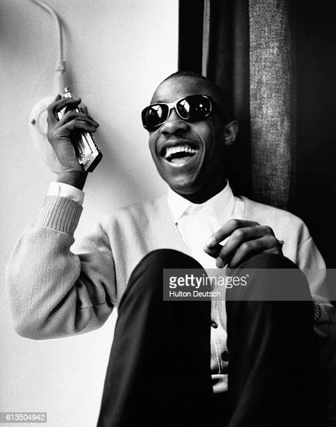 American singersongwriter Stevie Wonder 1965