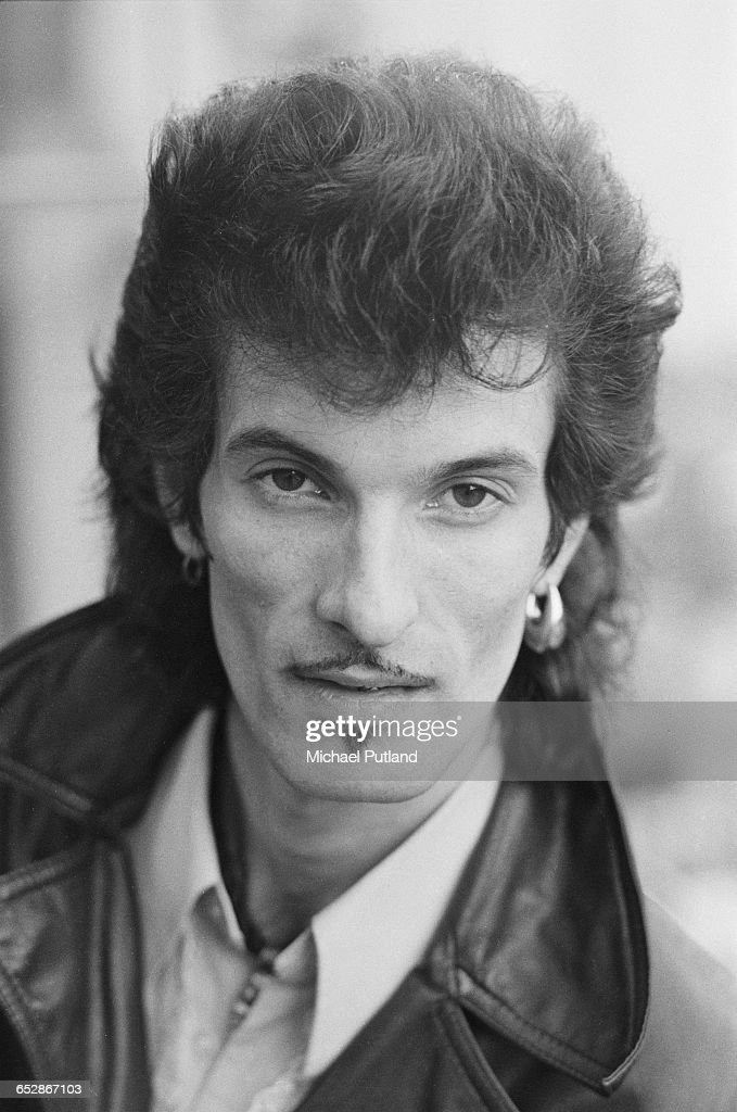 American singer-songwriter Willy DeVille (1950 - 2009), USA, 1981.