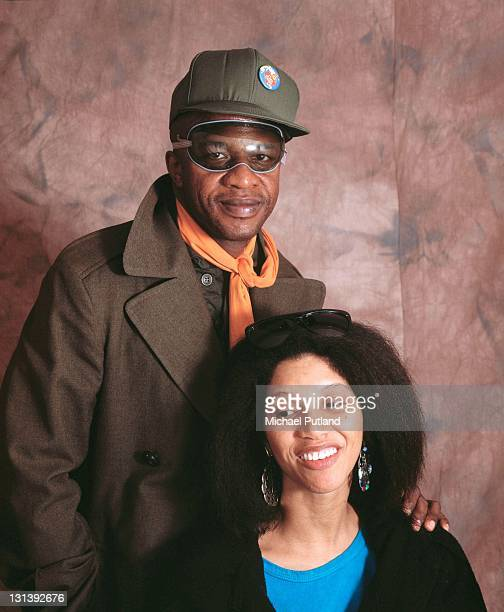 American singersongwriters Cecil Womack and his wife Linda of soul and funk duo Womack Womack London 2nd April 1987