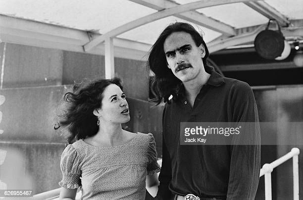 American singersongwriters James Taylor and Carole King 8th July 1971 They are in London to perform at the Royal Festival Hall