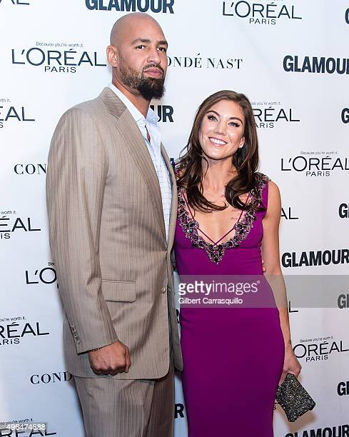 American soccer goalkeeper/ a two-time Olympic gold medalist and a World Cup gold medalist, Hope Solo and husband former American football tight end,...