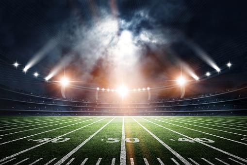 American Soccer Stadium, 3d rendering 627034124