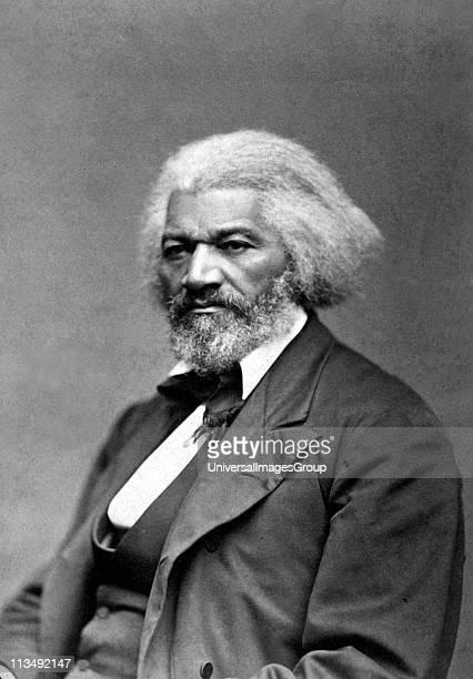 American social reformer, orator, writer, statesman and former slave, Frederick Douglass , circa 1879.