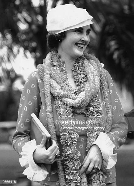 American socialite and Woolworth heiress Barbara Hutton said to be the richest woman in the world
