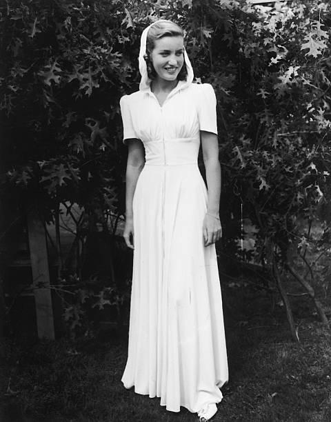 Socialite Edith Beale Modeling Dress
