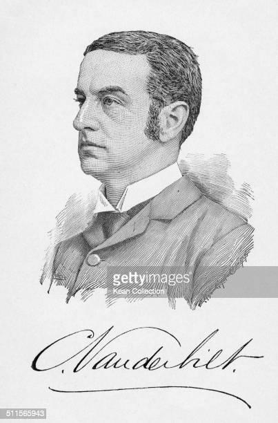 American socialite heir and businessman Cornelius Vanderbilt II circa 1880