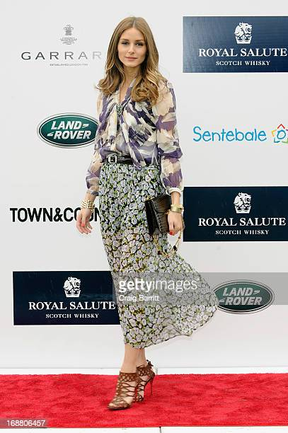 American socialite model and actress Olivia Palermo at the 2013 Sentebale Royal Salute Polo Cup at the Greenwich Polo Club where Land Rover is the...