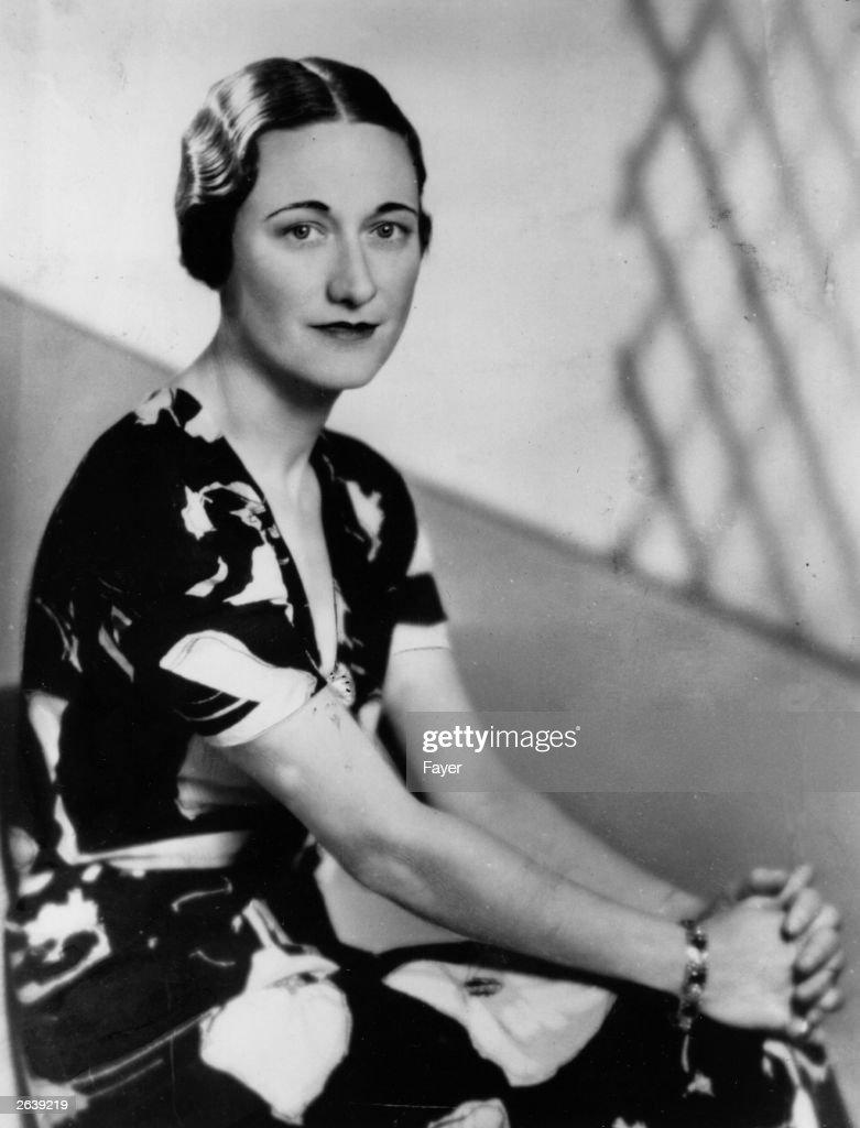 Wallis Simpson : News Photo