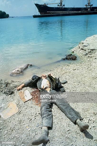 American soldier killed during US invasion of Grenada | Location Grenada
