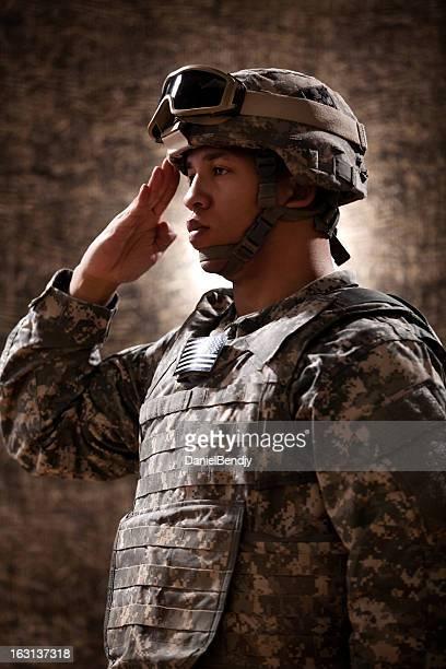 American Soldier Portrait
