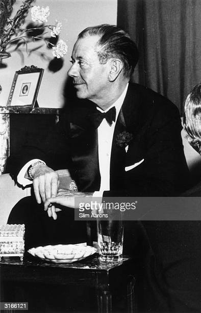 American songwriter and composer of numerous musicals Cole Porter at Kitty Miller's New Year's Eve party on Park Avenue New York