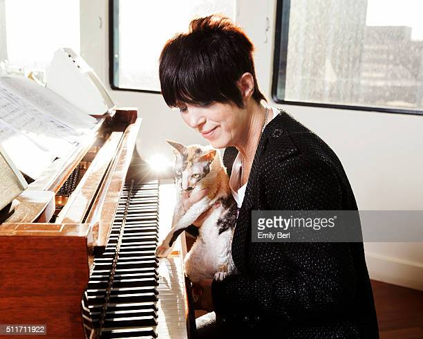 American songwriter Diane Warren is photographed for Buzzfeed on November 20 2015 in Los Angeles California