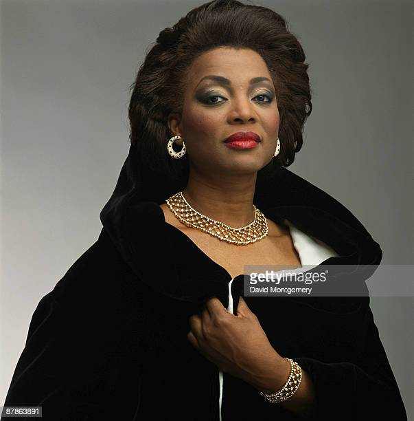 American soprano Wilhelmina Fernandez 15th February 1991