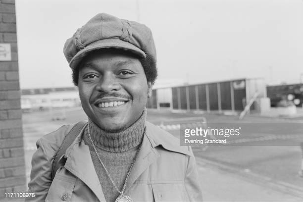 American soul and RB singer and songwriter Renaldo Benson of vocal quartet Four Tops UK 9th September 1976