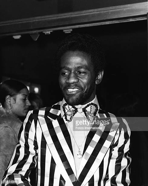 American soul, gospel, and rhythm & blues singer Al Green arrives at the First Annual American Music Awards, Hollywood, California, February 19,...