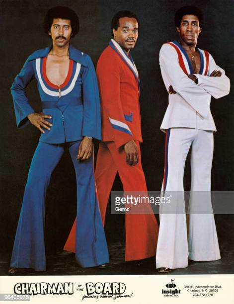 American soul group Chairmen of the Board featuring Eddie Custis Harrison Kennedy and General Norman Johnson circa early 1970s From Insight Talent Inc