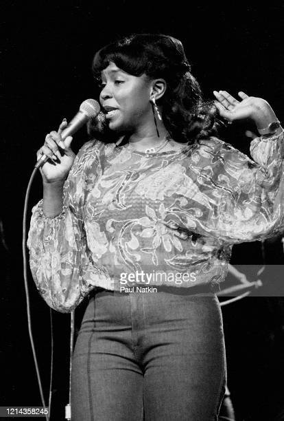 American Soul RB singer Betty Wright performs onstage at the Uptown Theater Chicago Illinois November 14 1979