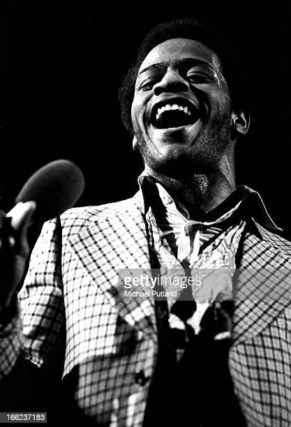 American soul singer Al Green performing live, 19th May 1973.