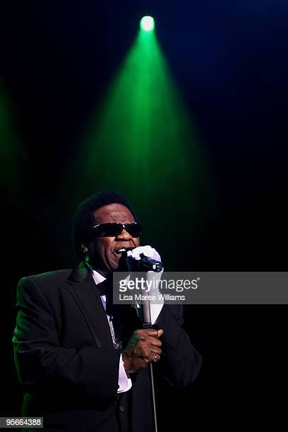 American soul singer Al Green performs in the Domain during the Sydney Festival 2010 Festival First Night event on January 9, 2010 in Sydney,...