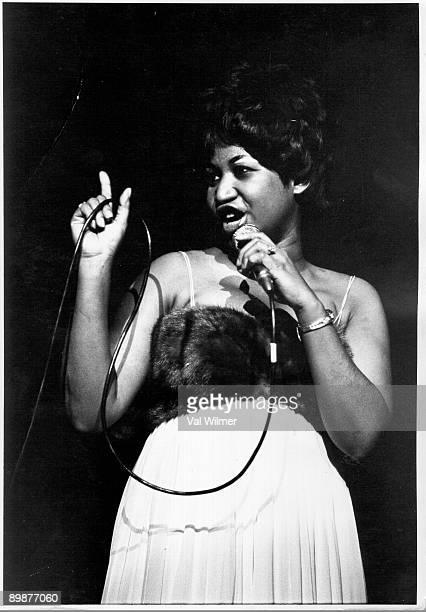 American soul singer Aretha Franklin circa 1965