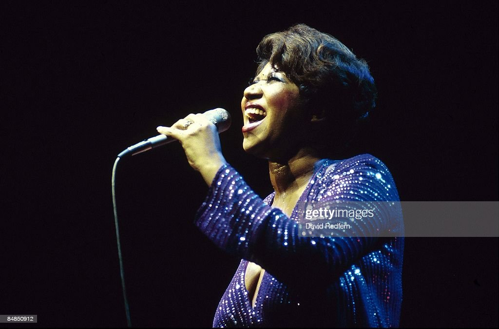 Aretha Franklin Live In London : News Photo