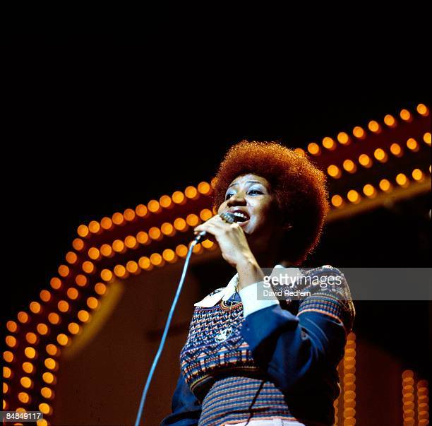HOLLYWOOD Photo of Aretha FRANKLIN performing on 'We Love You Madly' Duke Ellington tribute