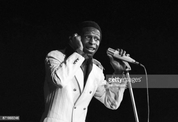 American soul singer Arthur Conley performing in Copenhagen Denmark 1970