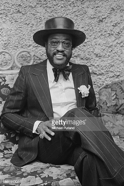 American soul singer, Billy Paul at a reception in London, December 1973.
